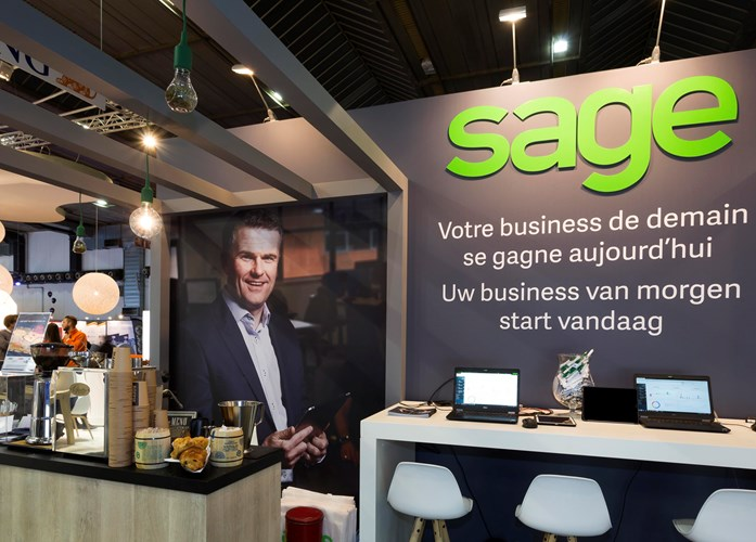 Beursstand - Sage - Forum for the future 2019 (2)