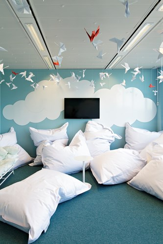 "Creatief wegdromen in ""The Cloud"" van Mobile Vikings (2)"