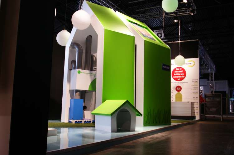 Award winning stand voor 'the V&R Solarcompany' (1)