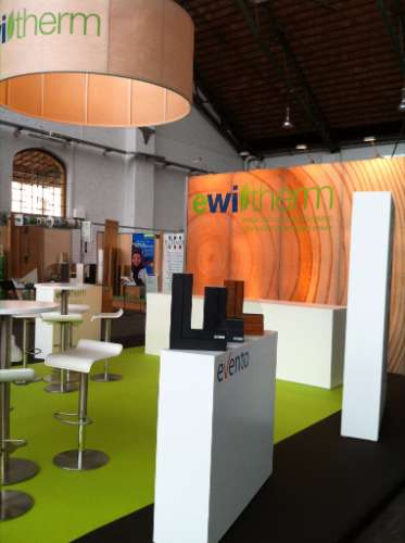 Beursstand Ewitherm - Passive house & Energie 2012 (2)